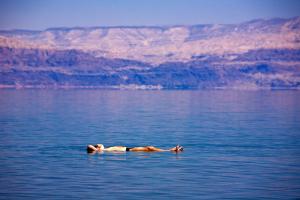 Flotter a la mer Morte