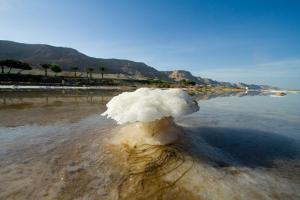 La mer Morte, une eau riche en sels minéraux