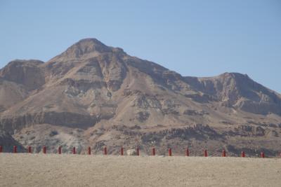Desert Neguev sur la Mer Morte
